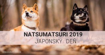 [POZVÁNKA] Rozprávanie o japonskom plemene shiba inu - NATSUMATSURI Japonský deň 2019