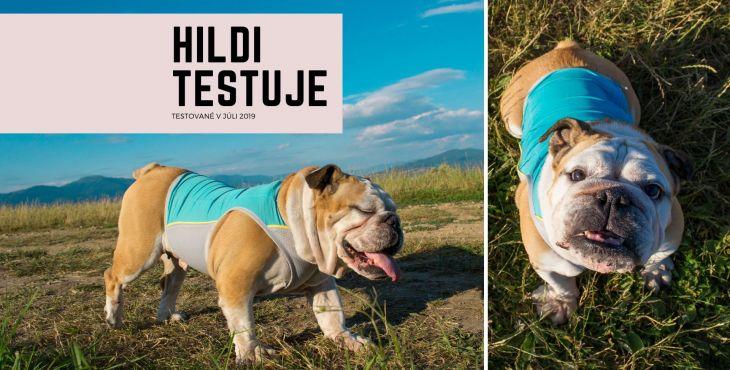 Letné horúčavy s chladiacou vestou pre psa Ruffwear Jet Stream