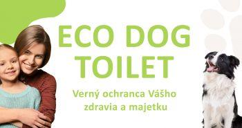 Novinka ECO DOG TOILET – záchod pre vášho miláčika môžete mať už aj vo vašej záhrade
