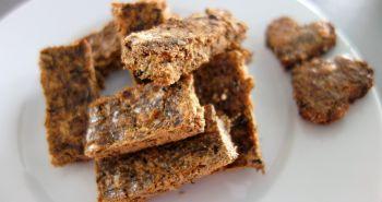 Cuketovo – pečeňové sušienky pre psov