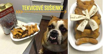 Tekvicové sušienky pre psov