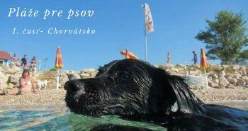 Pláže vhodné pre psíkov v Chorvátsku