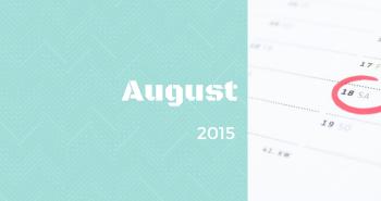 Uzávierka prihlášok v mesiaci AUGUST 2015