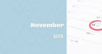 Uzávierka prihlášok v mesiaci NOVEMBER 2015