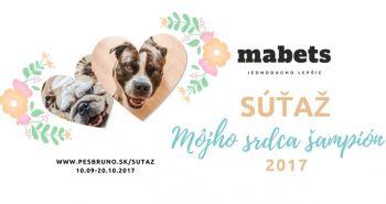 SÚŤAŽ - Môjho srdca šampión 2017